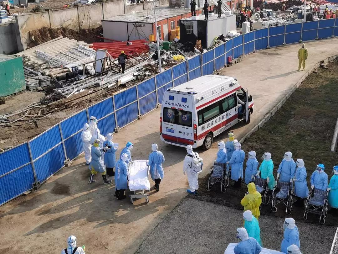 刚刚!火神山医院收治首批患者