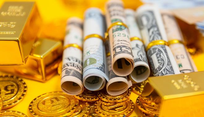 紐約商品交易所黃金期貨市場4月黃金期價14日上漲