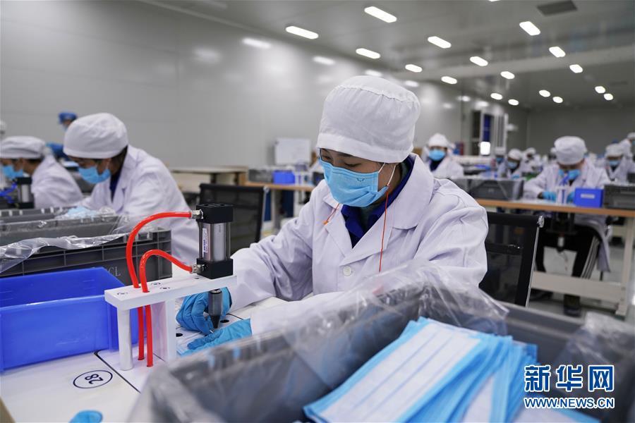 (聚焦疫情防控)(1)从造汽车到产口罩——上汽通用五菱转产助防疫