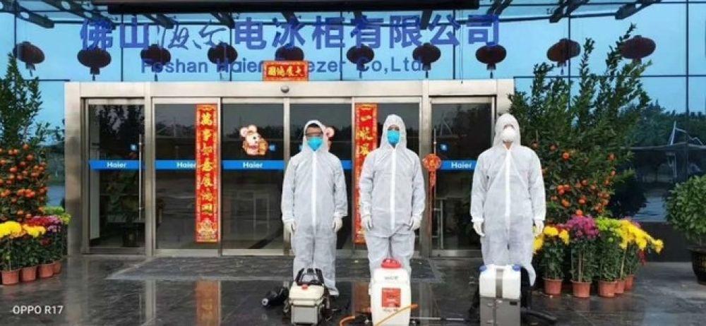 """安全防疫下復工,多地政府點贊,海爾智家成""""企業樣板""""!"""