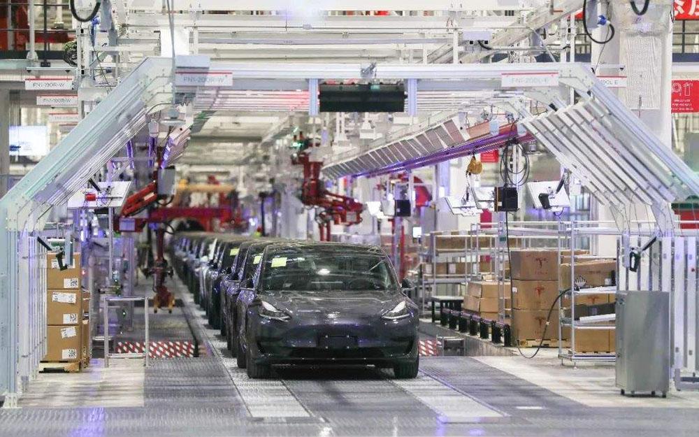 特斯拉将扩大上海超级工厂汽车组件产能