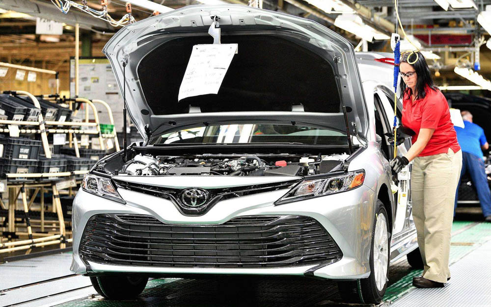 丰田决定对日本国内5家工厂的7条生产线暂停生产