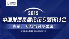 2019中国发展高层论坛专题研讨会