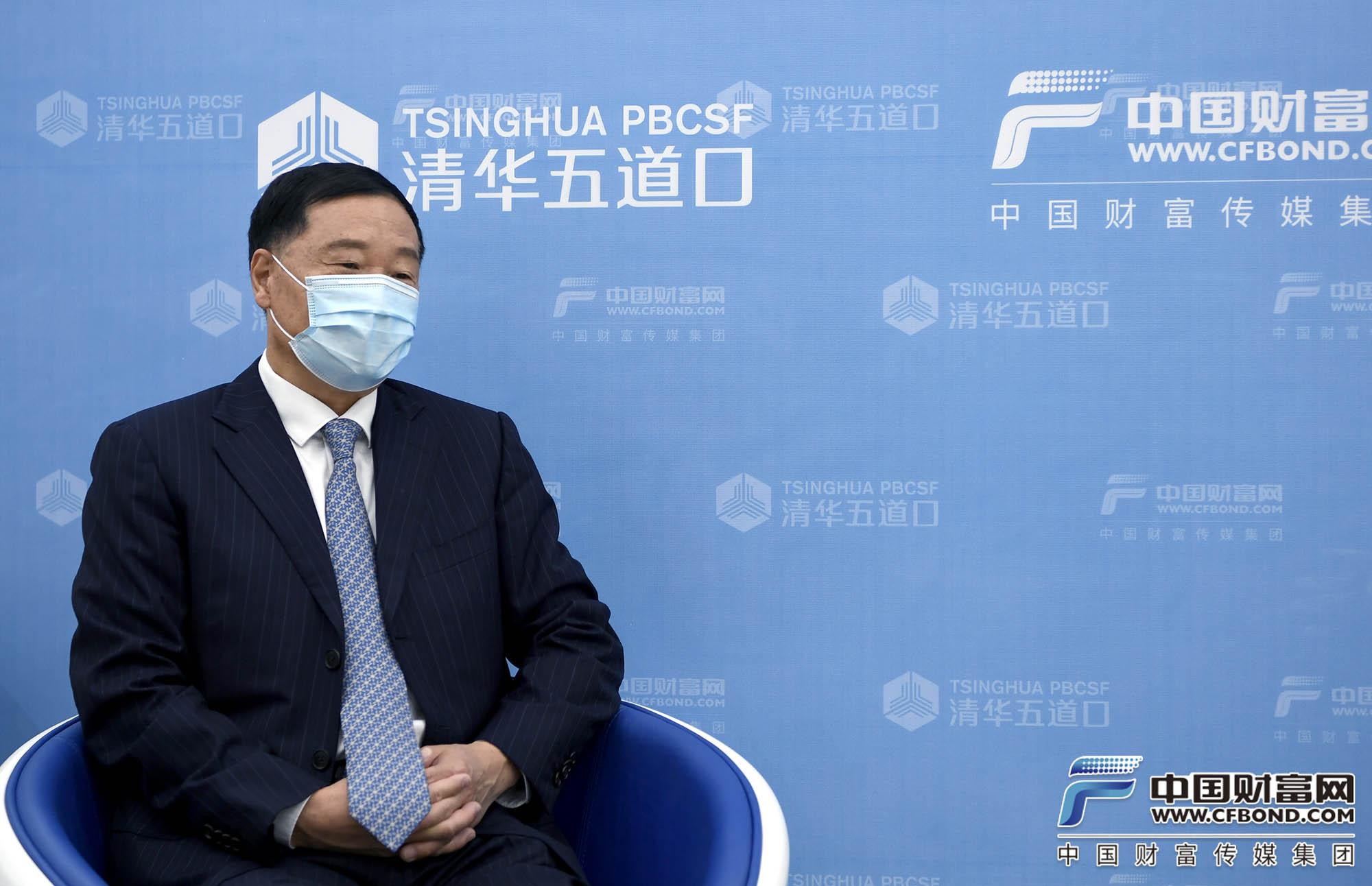 全国政协委员,中国证监会原主席肖钢接受中国财富网专访