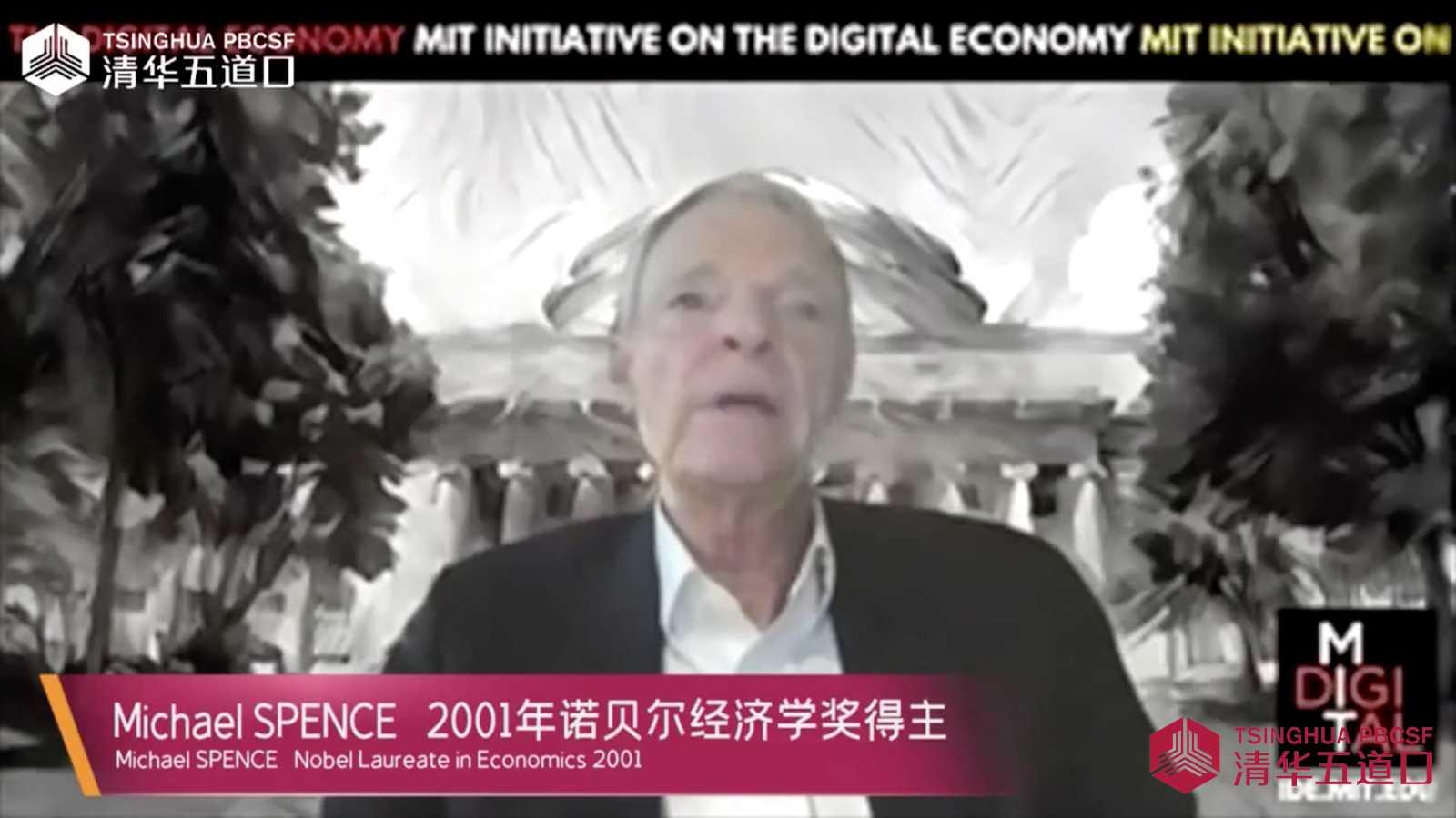 诺奖得主斯宾塞:中国应对疫情冲击做得很棒