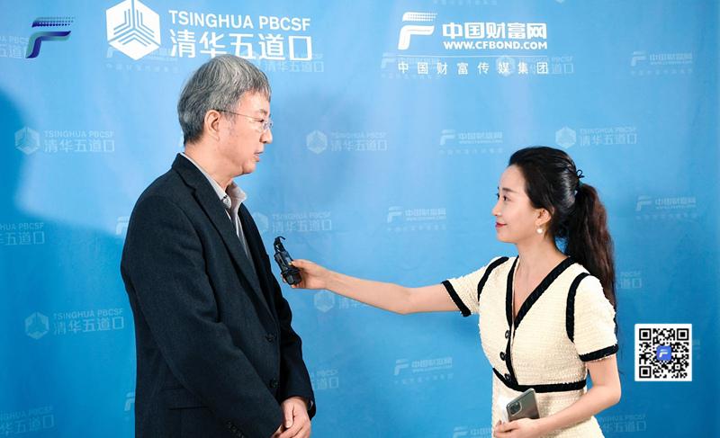 """【中国财富报道】独家专访朱民:中国经济将呈现""""缓坡""""状复苏"""