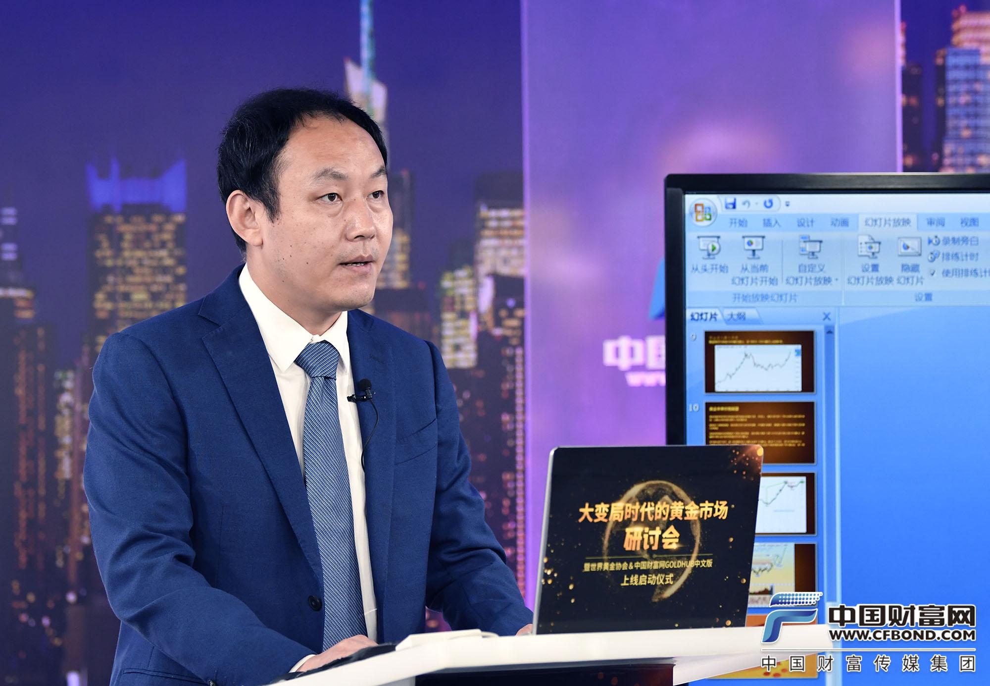 新华社民族品牌工程负责人梁智勇发言