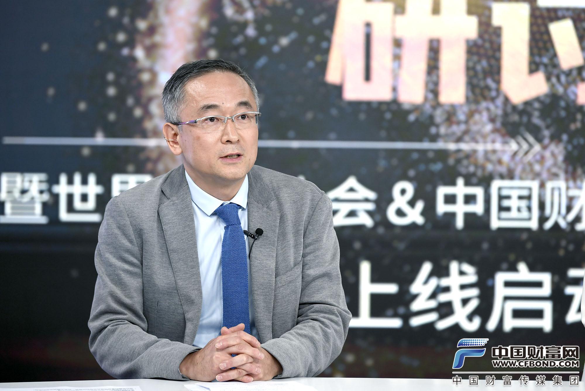 世界黄金协会中国区董事总经理王立新