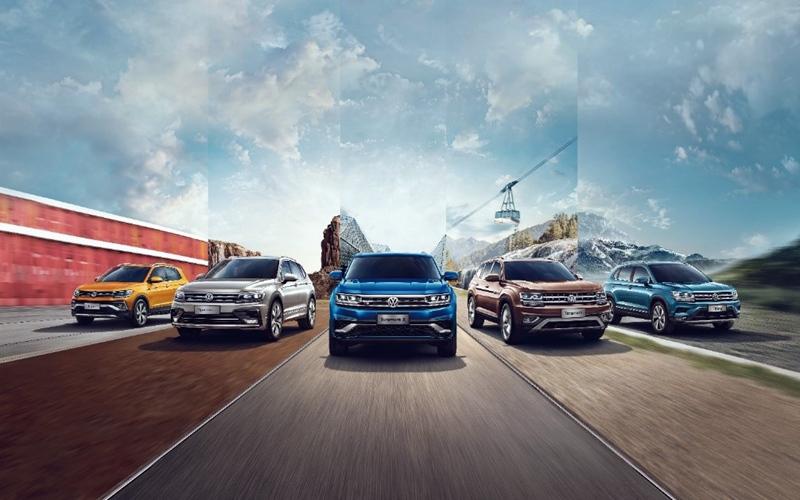 上汽大众7月销售12.2万辆 SUV家族同比增长25.8%
