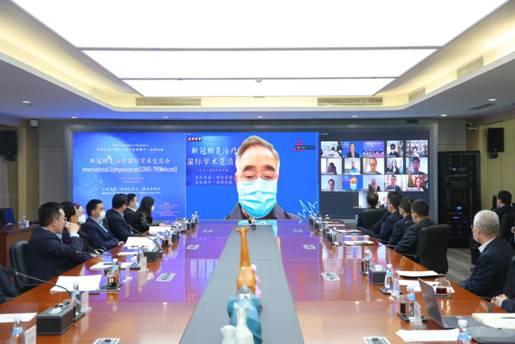中國醫藥企業全球推廣支持中醫藥抗擊新冠疫情