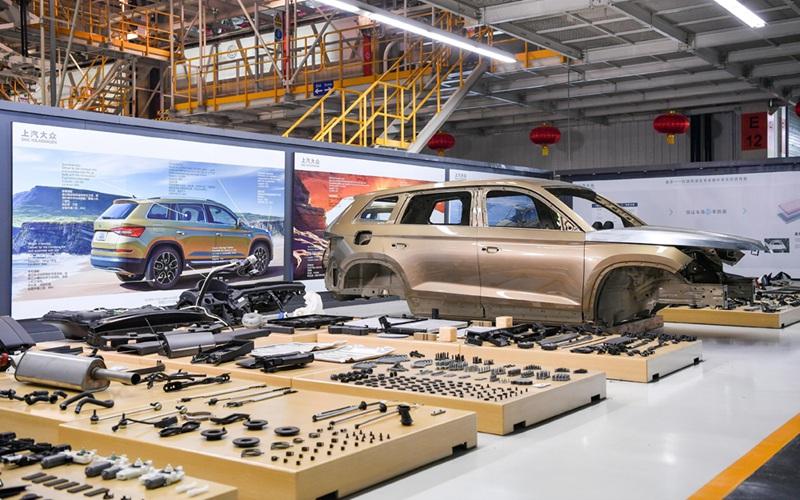 上汽大众长沙工厂云体验 柯迪亚克家族品质之旅上线