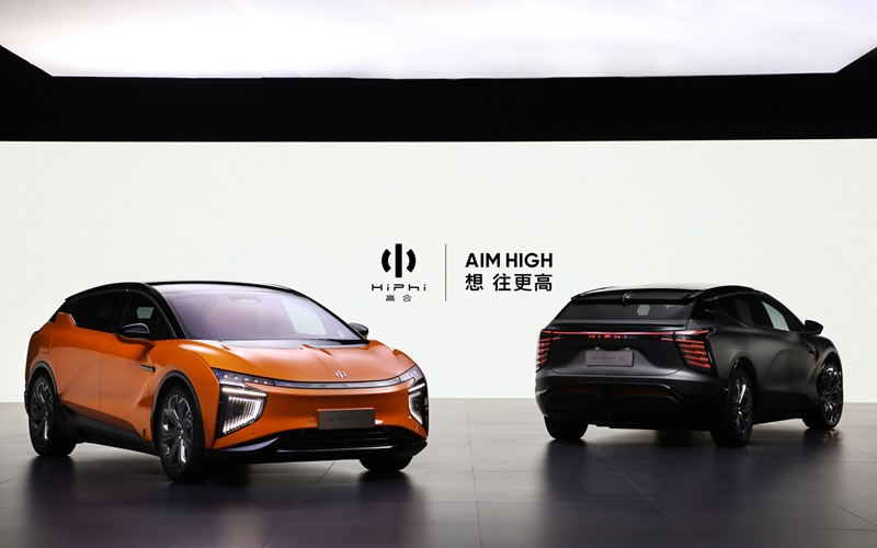 高合HiPhi X 80万元面世 欲做豪华智能纯电划时代产品
