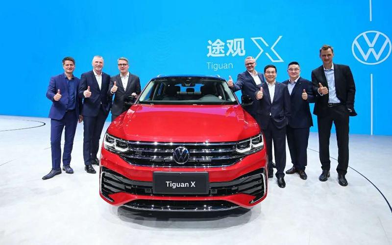 途观X预售 新辉昂亮相 上汽大众发力高端市场