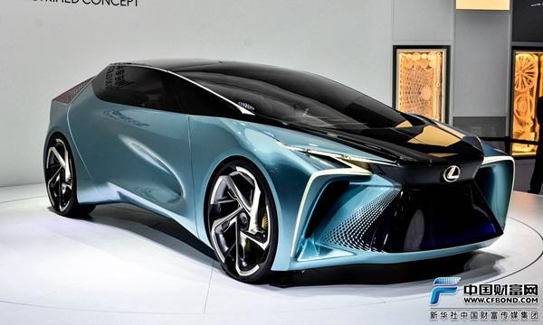 雷克萨斯纯电动概念车LF-30