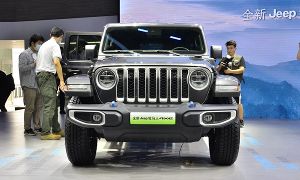 全新Jeep牧马人