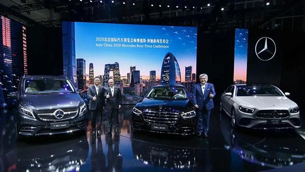 奔驰24款重磅车型盛大亮相北京车展