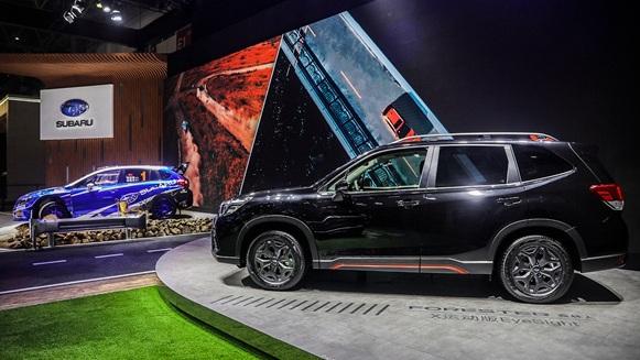 斯巴鲁携全系主力车型亮相北京车展