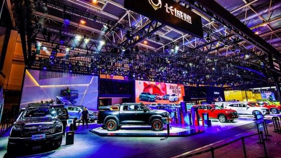 长城汽车旗下四大品牌登陆北京车展