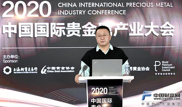 中国珠宝玉石首饰行业协会书记、副秘书长沙拿利做专题发言