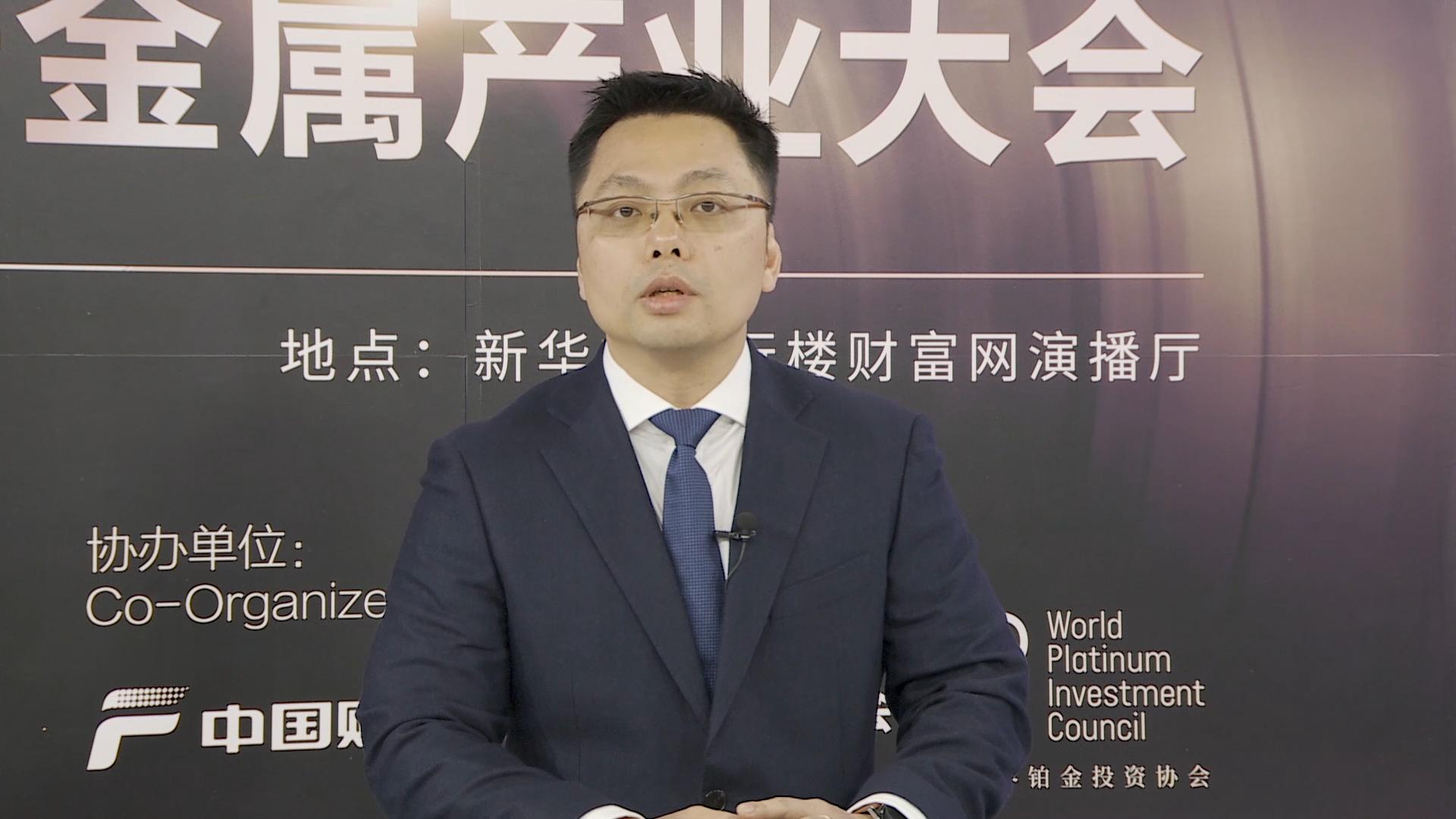 邓伟斌:建议投资者以实物配置的方式投资铂金