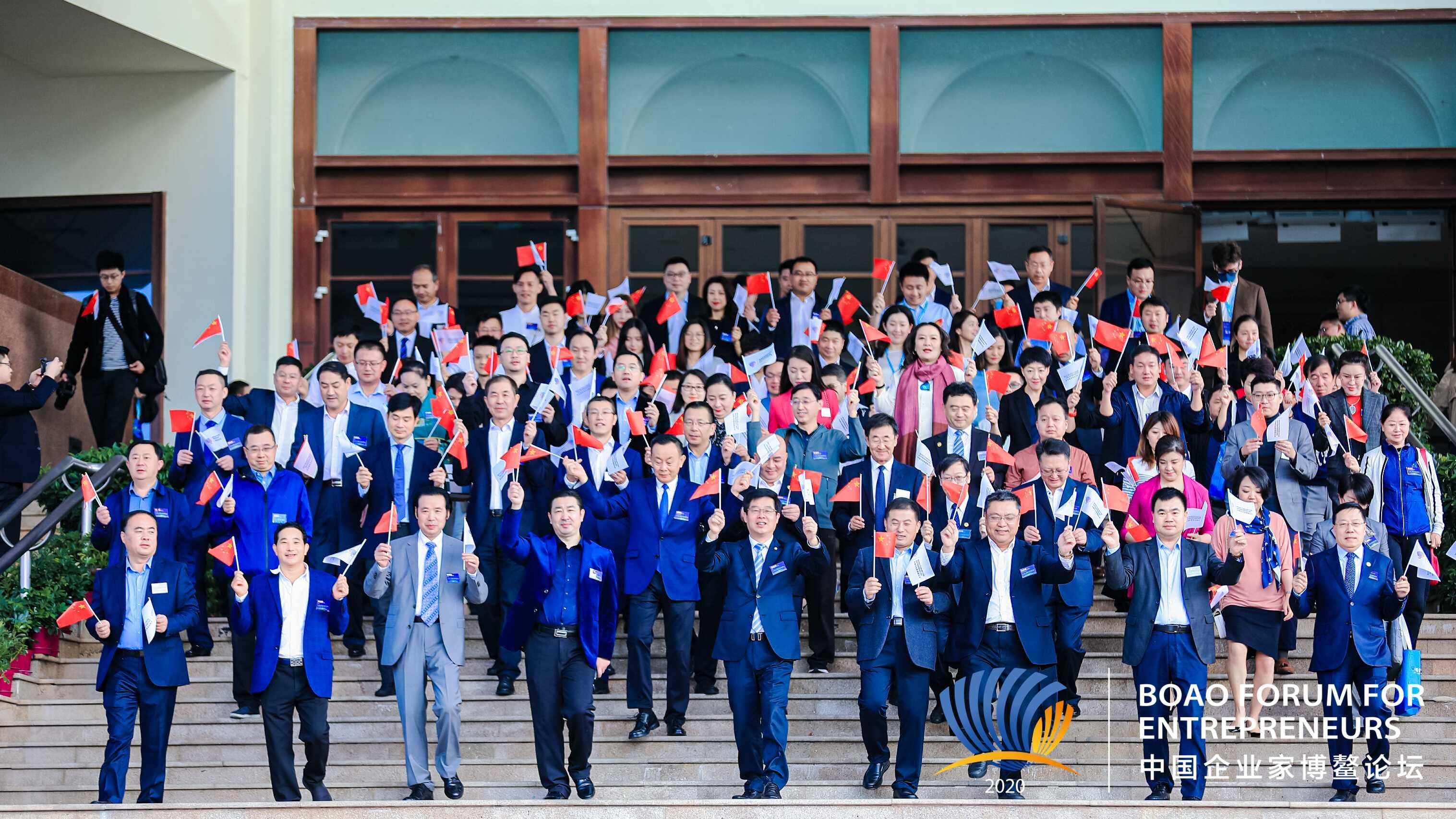 2020中国企业家博鳌论坛《我的祖国》音乐纪录片摄制现场