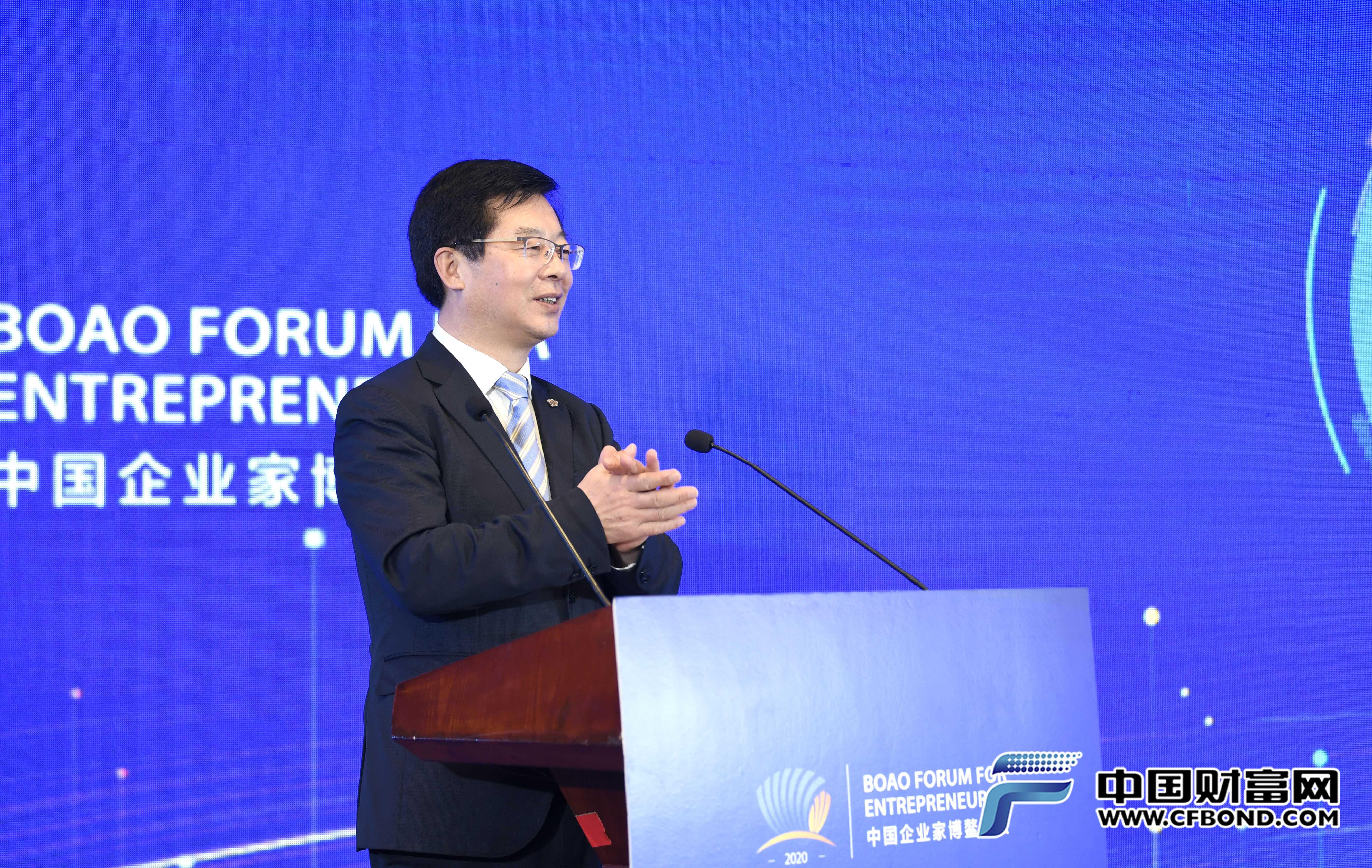 新华社党组成员、秘书长宫喜祥致辞