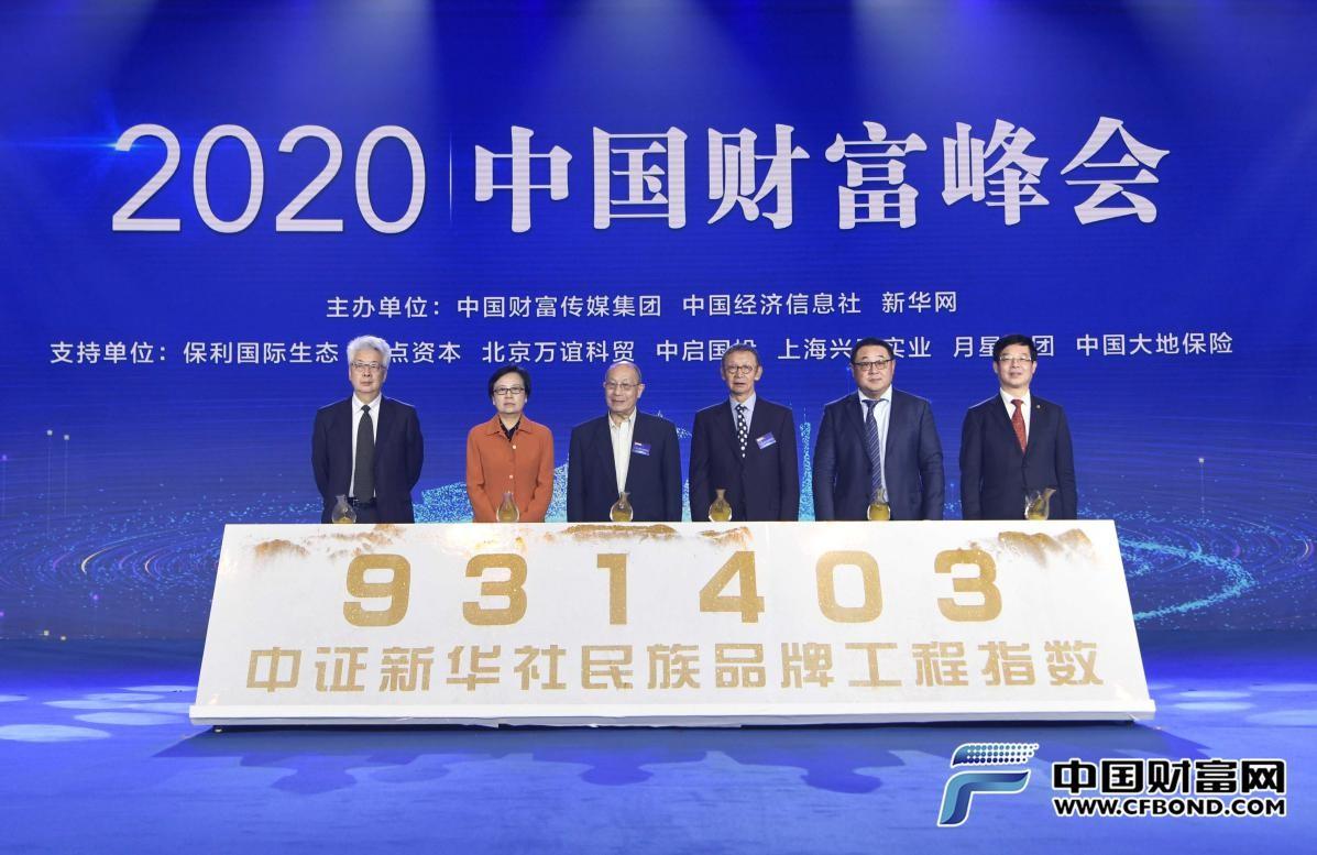 """931403!""""中证新华社民族品牌工程指数""""正式发布"""