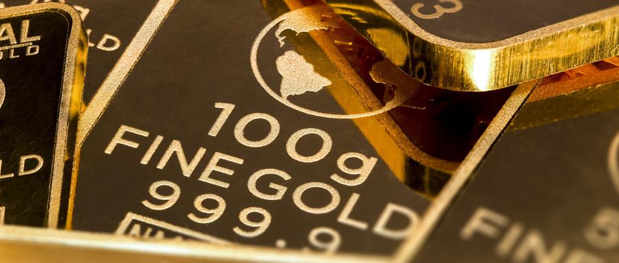 纽约商品交易所黄金期货市场4月黄金期价2日下跌