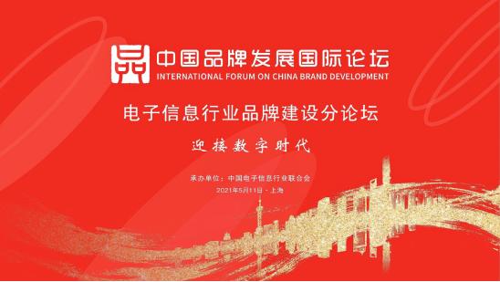 中国品牌日发展国际论坛电子信息行业品牌建设分论坛在沪召开