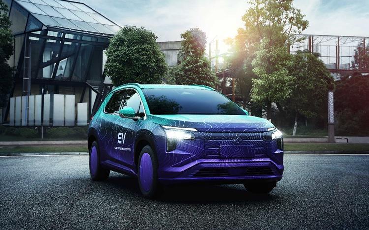 广汽三菱纯电动SUV阿图柯谍照曝光 或年底上市