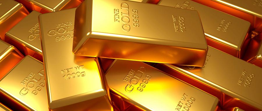 纽约商品交易所黄金期货市场8月黄金期价22日上涨