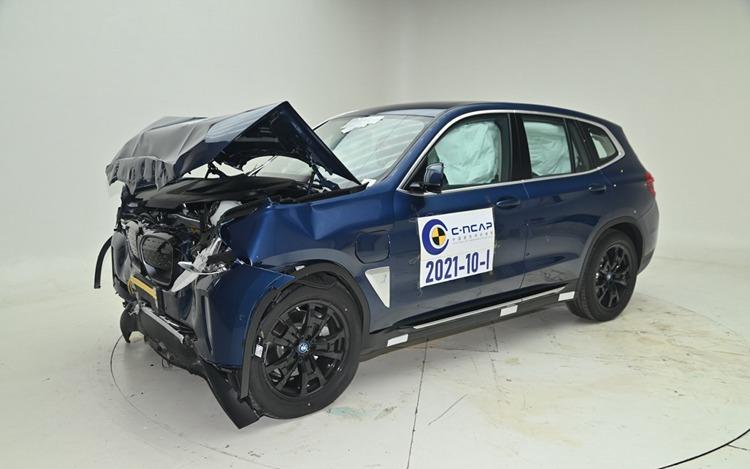 BMW iX3获C-NCAP超五星评价 打破总得分率纪录